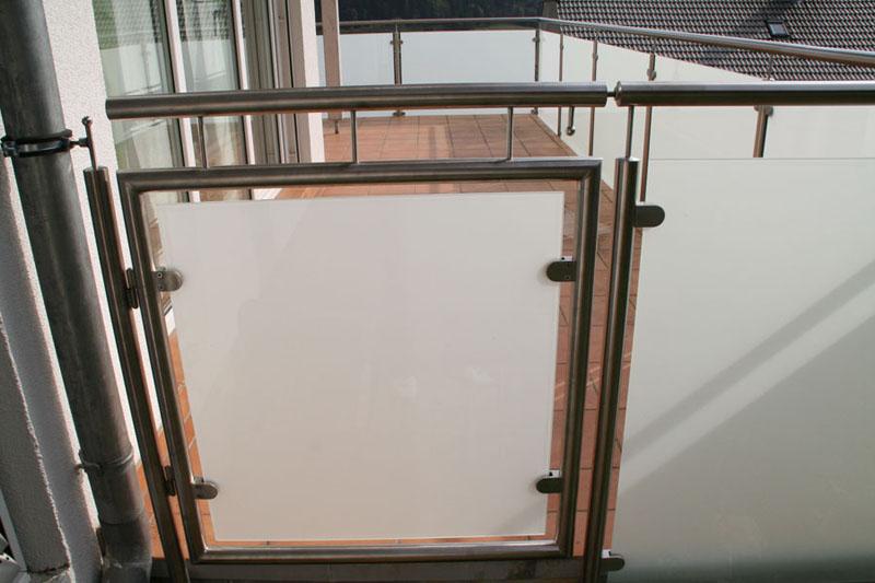 Balkongeländer Aus Edelstahl Glas Aluminium Weizel Schweiz Gmbh
